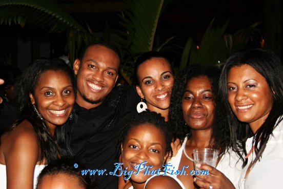 All White Party @ Big Phat Fish