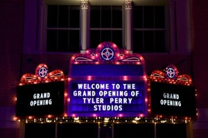 Tyler Perry Studios Marquee