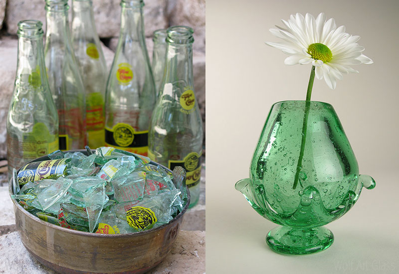 301 moved permanently for Recycled glass art